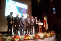 اهداء تندیس نخستین جایزه ملی تحول دیجیتال به بانک شهر