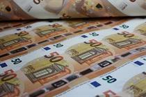اسکناس های جدید ۵۰ یورویی روانه بازار شدند