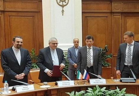 امضای یادداشت تفاهم توسعه همکاری های بانکی بین ایران و روسیه