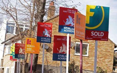 افت قیمت مسکن در لندن