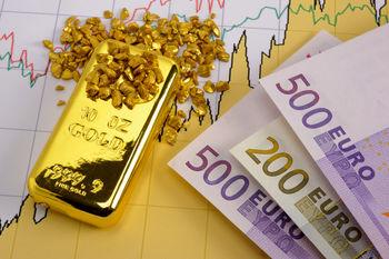 رشد یورو عامل اصلی گرانی طلا است